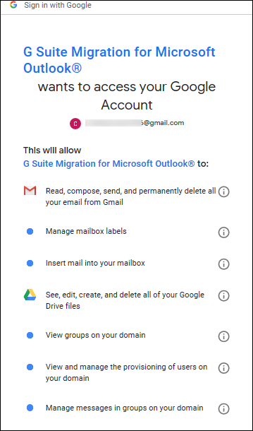 Migrate Outlook .pst to Gmail
