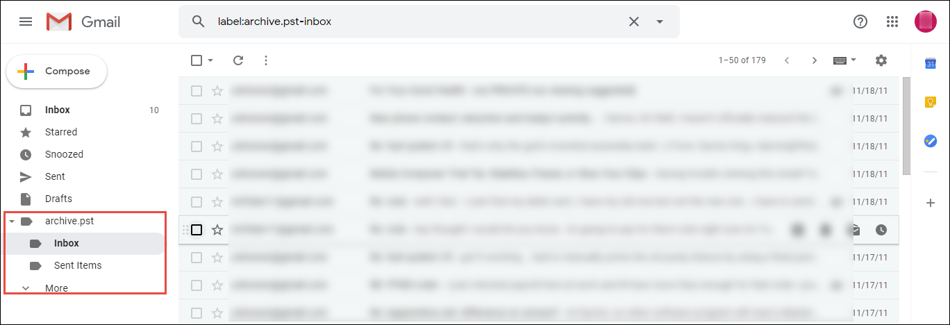 Move Outlook contacts to Gmail