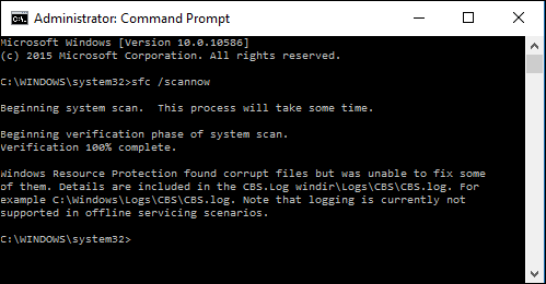 how to find and delete corrupted files