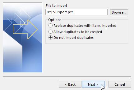 do not import duplicates