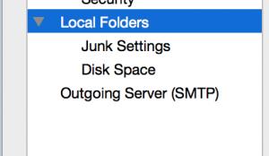 Backup Thunderbird Local Folders Without External Utility
