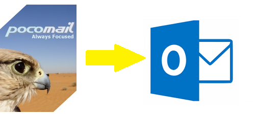 Pocomail to Outlook