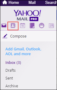 login to your Yahoo Mail Account