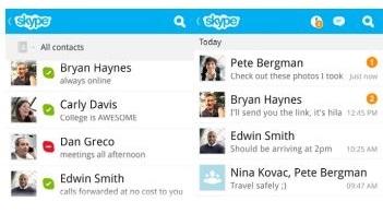 Export Skype Contacts