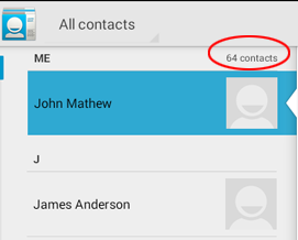 view contacts in whatsapp