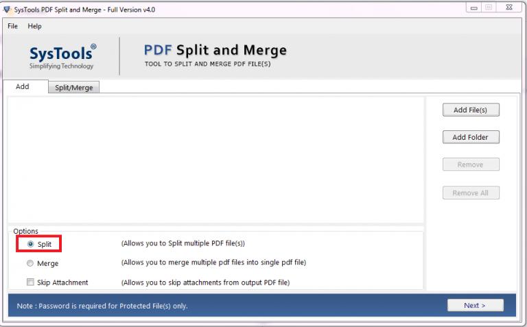 Split large PDF files into multiple parts - Windows & Mac OS