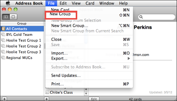 Thunderbird - Exporting your Address Book(s) / Contacts