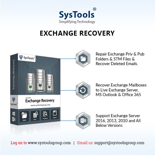 Recover Deleted Email Items From Exchange 2003, 2007, 2010