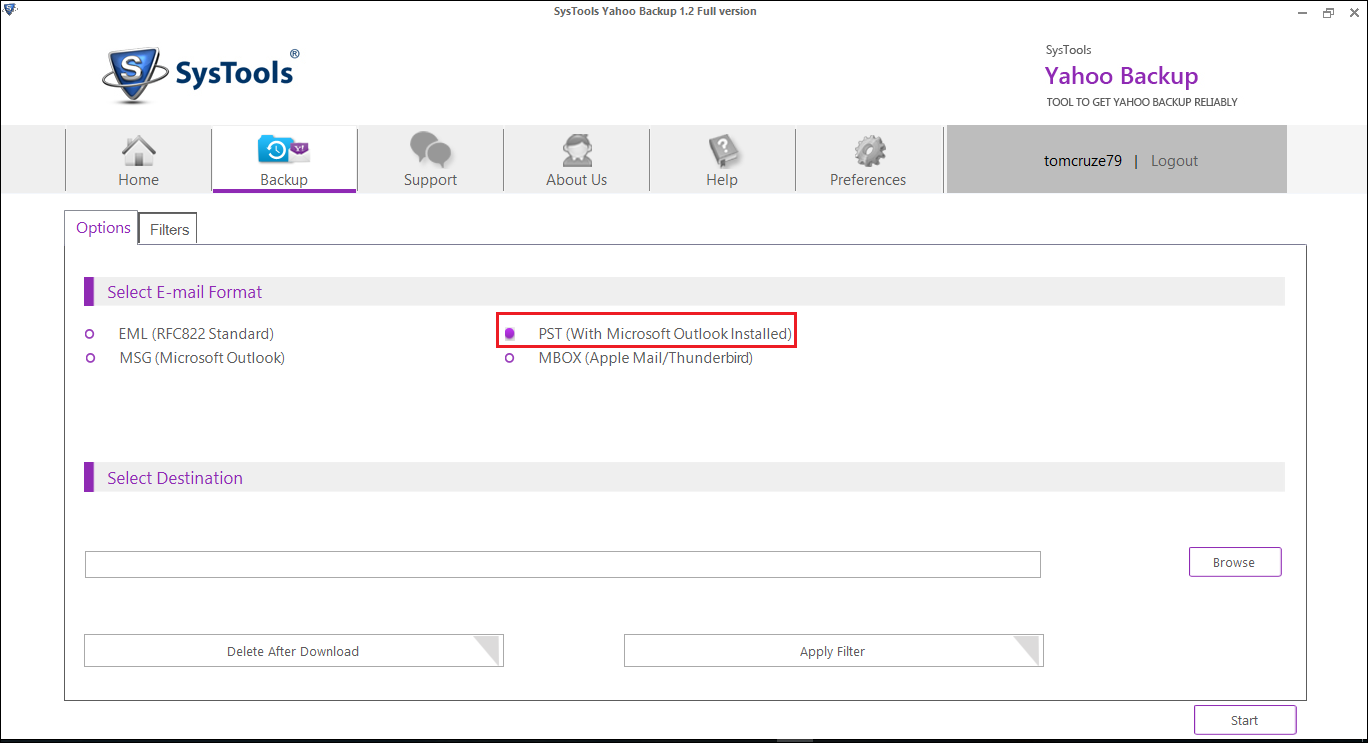 how to save yahoo email as pdf