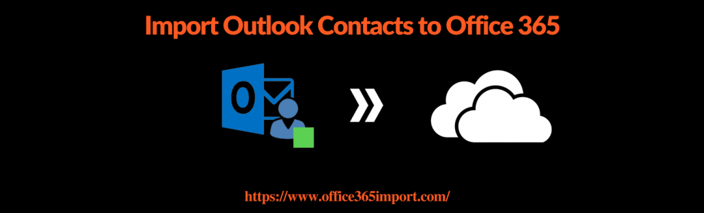 Move Outlook Contacts to Office 365