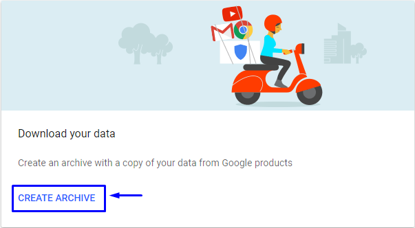 google takeout network error