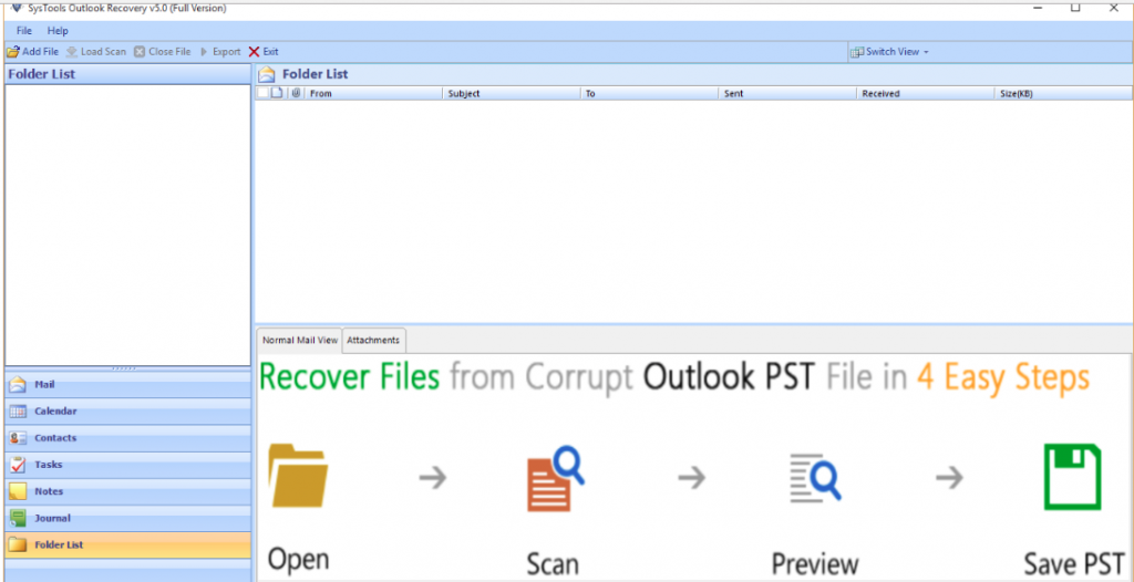 how to get rid of data file view in outlook
