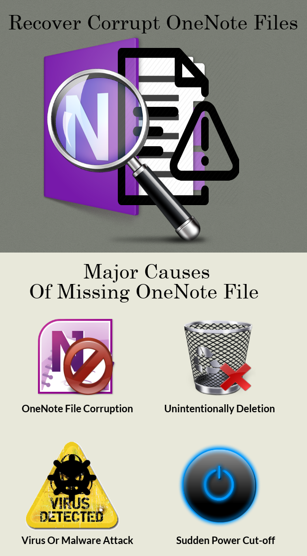 Recover Corrupt OneNote Files - Best Solution For OneNote