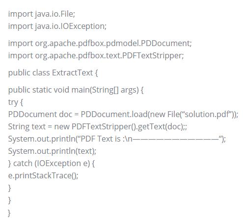 pdf data extraction
