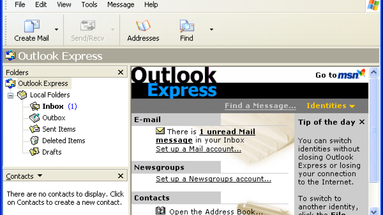 Outlook Express not Working in Windows XP - Top 10 Ways to Fix