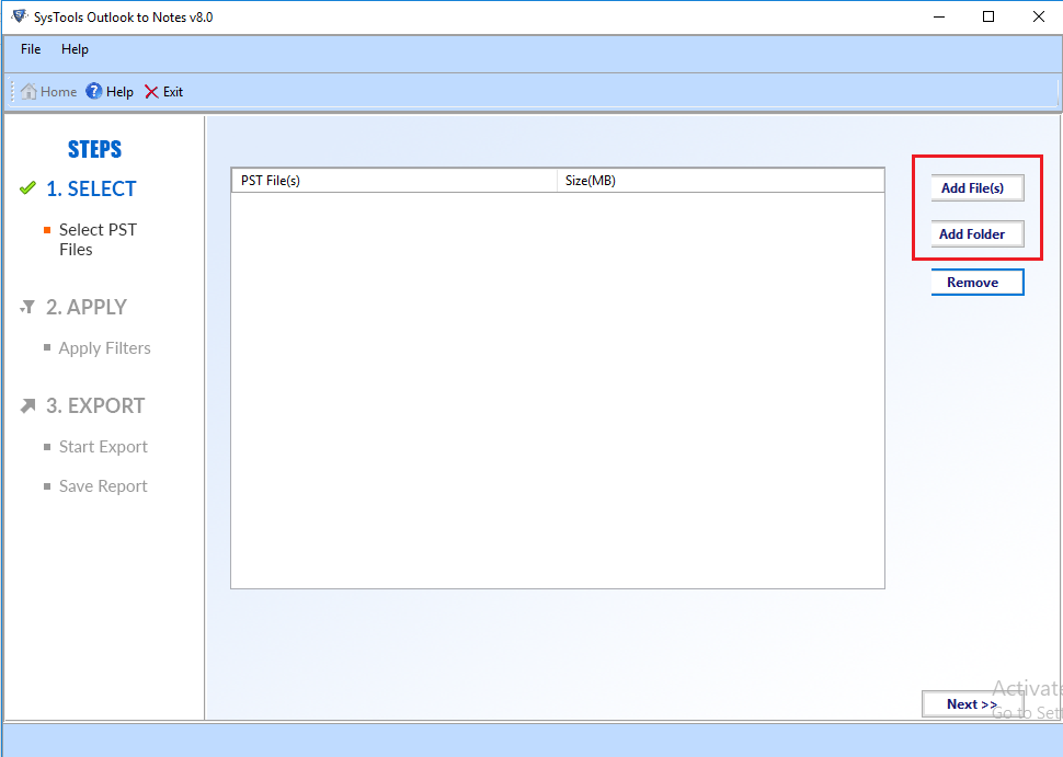 import pst to lotus notes