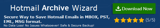 Hotmail archive Wizard
