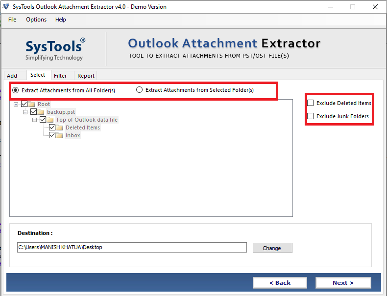 Best outlook attachment extractor tool