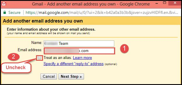 Zoho Mail to Gmail