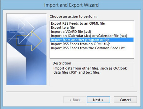 move outlook pst file to new computer