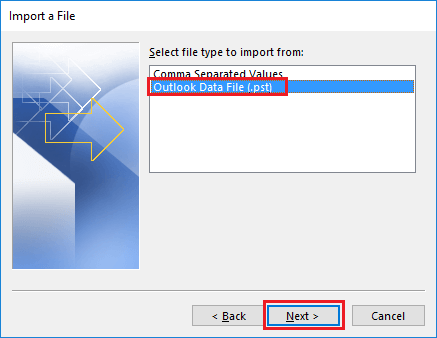consolidate outlook pst files via merging