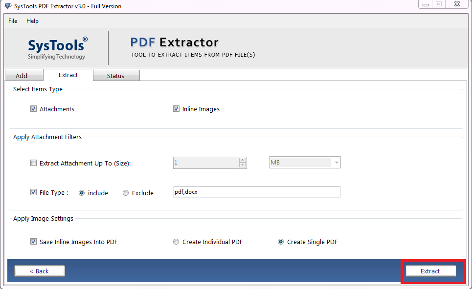 how to extract elements from pdf