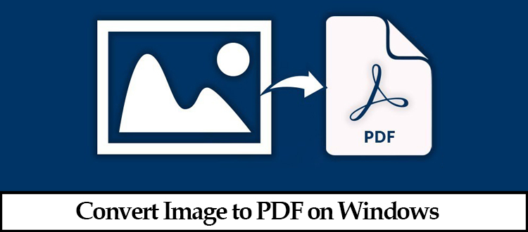 convert Image to PDF on windows
