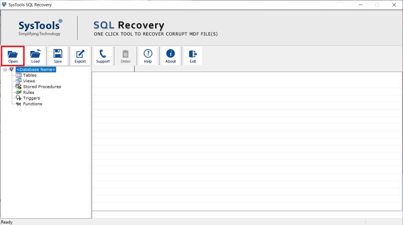 Import MDF database in SQL Server